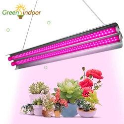 100 Вт Светодиодный светильник для выращивания, полный спектр, светодиодный светильник для выращивания растений, лампа для выращивания раст...