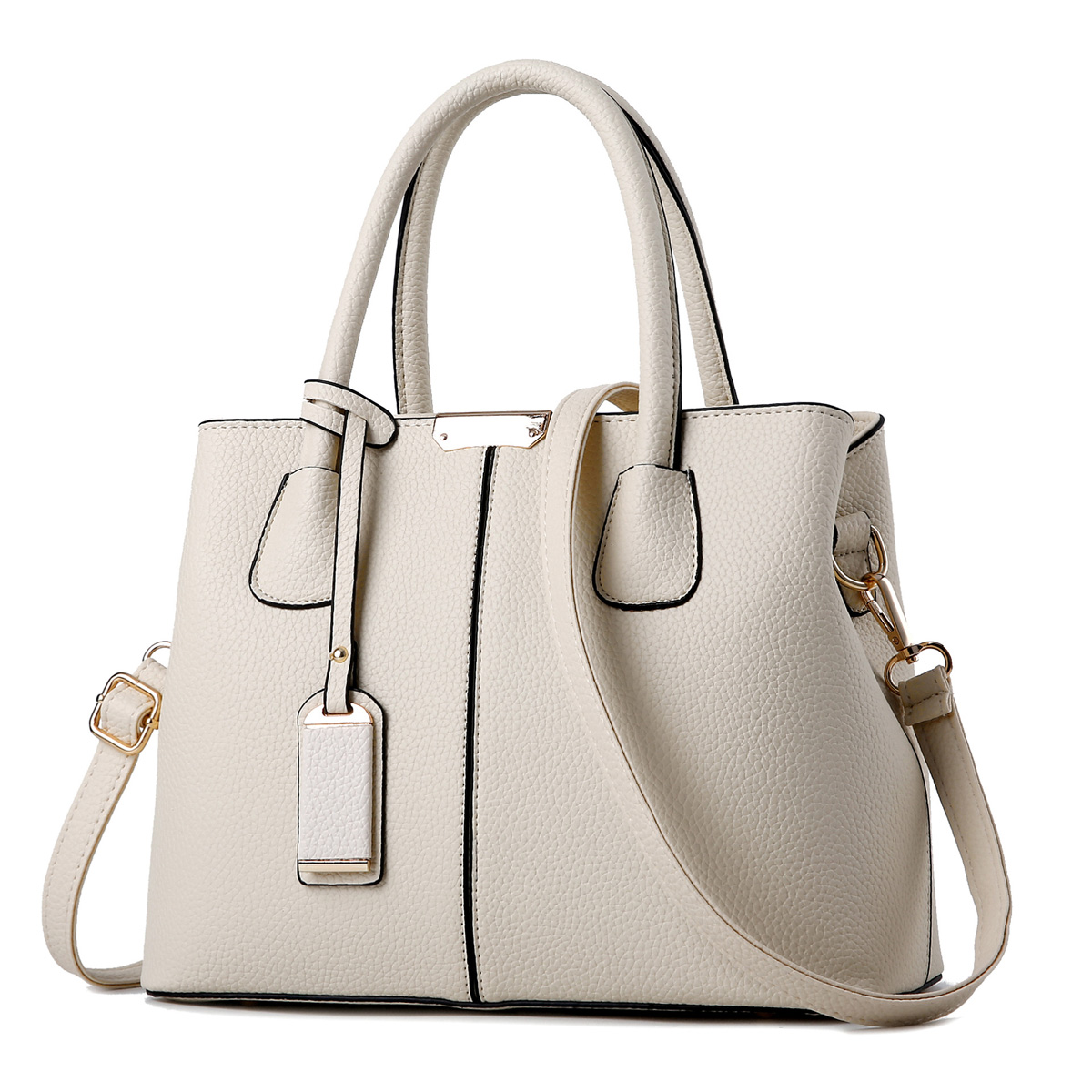 Women Top Handle Handbags Elegant Leather Shoulder Messenger Bags for Young Ladies 1