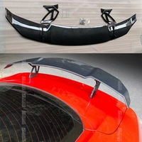 For Audi A3 A4 A5 A6 A7 TT R8 Sedan Spoiler A3 S3 ABS Rear Roof Spoiler Wing Trunk Lip Boot Cover Car Styling