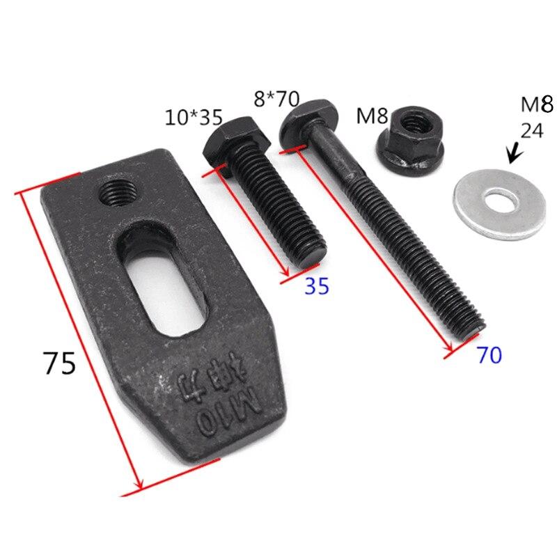 ABSF Fest High Festigkeit Leuchte Gravur Maschine Clamp Maschine Werkzeug Zubehör 1 Set
