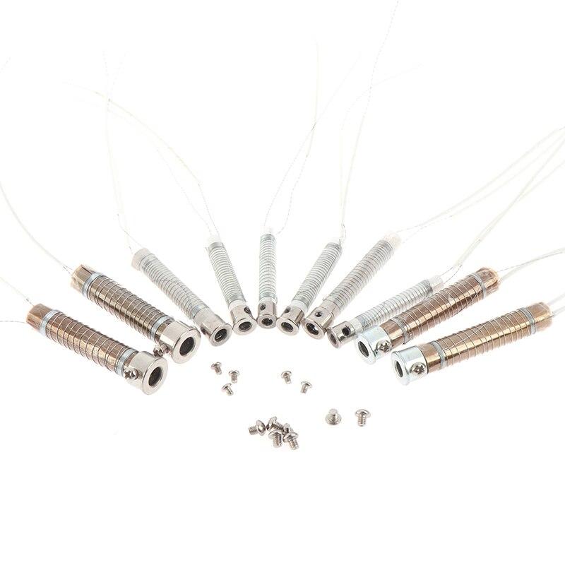 Нагревательный элемент для паяльника, 220 В, 30/40/60/80/100 Вт, 2 шт.