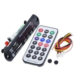 Image 2 - TZT nouvelle arrivée sans fil Bluetooth 12V MP3 WMA décodeur carte Module Audio USB TF Radio pour accessoires de voiture