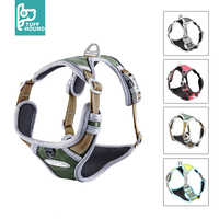 TUFF HOUND Pet Products Nylon Dog Harness Vest K9 Breathable And Comfortable Dog Harness Belt Large Small Bulldog Quick Release