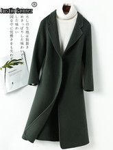 Hot Sale Straight Warm Thicken High Quality Soft Cashmere Coat Single-breasted Long Sleeve New Casual Korean Fashion