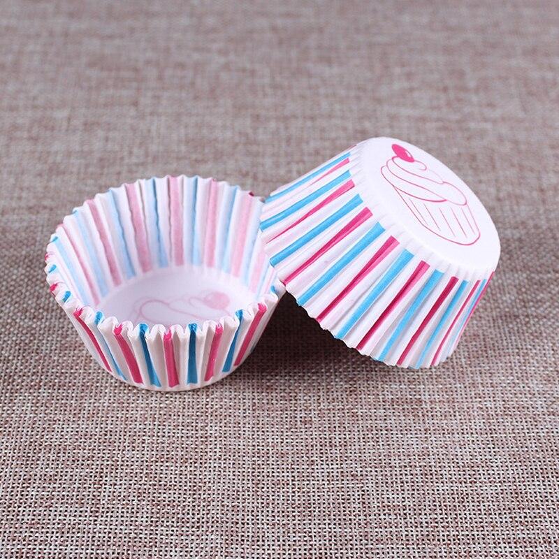 Rainbow Color Cupcake Tins 1