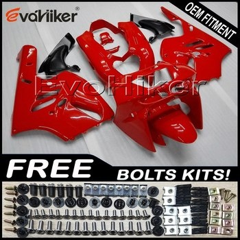 Custom motorcycle fairing for ZX-9R 1994-1997 ABS motor panels Body Kit red+gifts