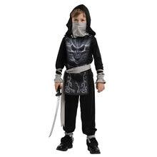 Cosplay Samurai-Book Ninja-Costume Fancy-Dress Halloween Party Kids Child Boys for Purim