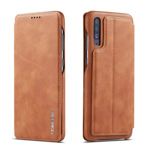 Image 2 - Simple Flip Case For Samsung Galaxy A20 A30 A40 A50 A70 Case Leather Magnetic Luxury Cover Case For Funda Samsung A20e A30S A50S
