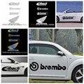 Модные 8 Цвет Brembo Frase наклейки для автомобиля и наклейки для автомобиля-наклейка для боди-арта, стильное декоративное гонки Eibach Настенная На...