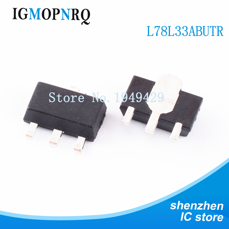 1000PCS L78L33ABUTR 3.3V 1A SOT 89 L78L33ABU 78L3 L78L33A 78L33 L78L33 78L33A New Original Free Shipping IC-in Integrated Circuits from Electronic Components & Supplies