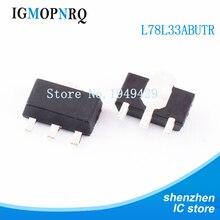 1000PCS L78L33ABUTR 3.3V 1A SOT 89 L78L33ABU 78L3 L78L33A 78L33 L78L33 78L33A חדש מקורי משלוח חינם IC