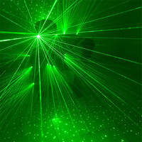 Q05 Ballroom dance laser costumes stage green light laser armor robot men suit dj luminous glasses glowing projector disco wears