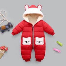 Overalls Baby Snowsuit Romper Jumpsuit Newborn Clothes Winter for Infant Boys Girls Christmas-Costume
