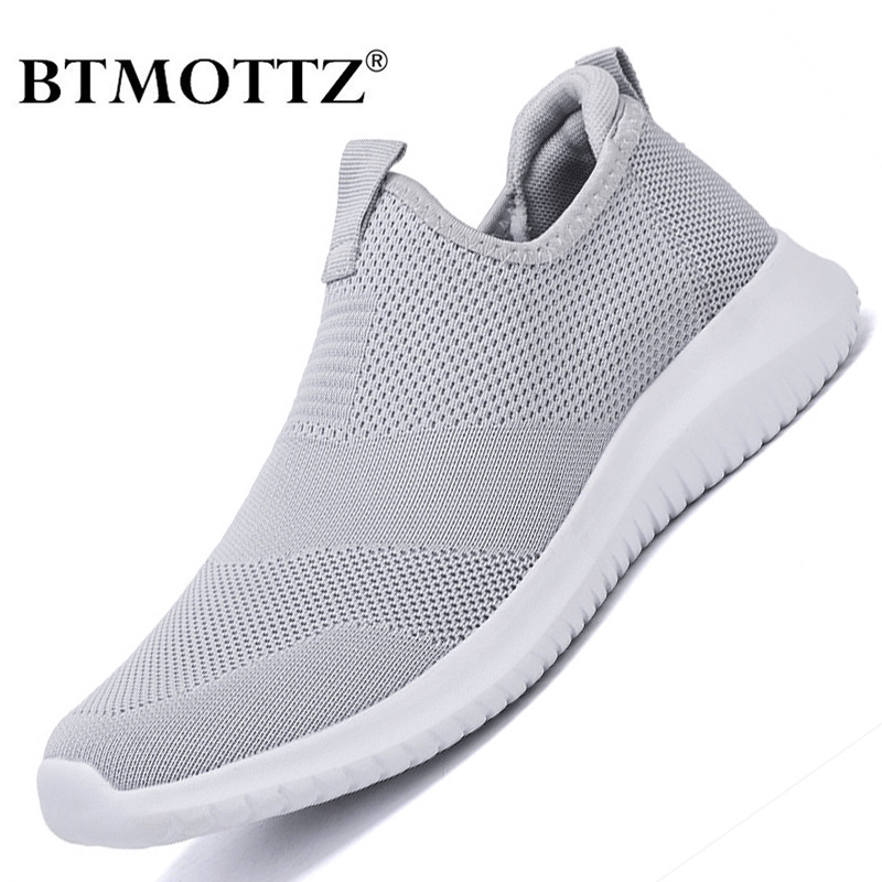 Summer Men Sneakers Slip On Men Casual Shoes Lightweight Comfortable Breathable Couple Walking Shoes Trainers Feminino Zapatos