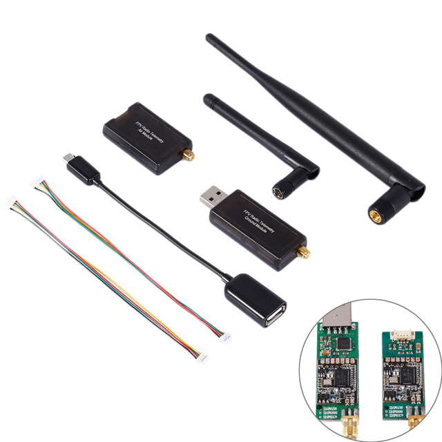 3DR 500MW Radio Telemetry 433Mhz 915Mhz Air and Ground Data Transmit Module for APM Pixhawk Flight Control FPV Compact Size