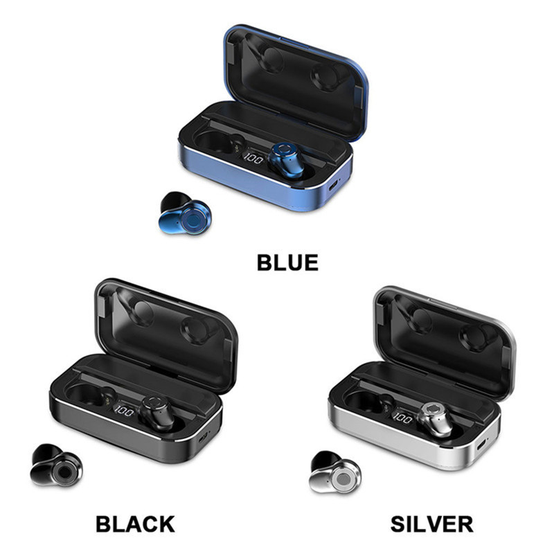 A6 PRO TWS bluetooth earphones wireless headphones sport for Samsung Galaxy J7 (2016) SM-J710F Music Earbud Charging Box image