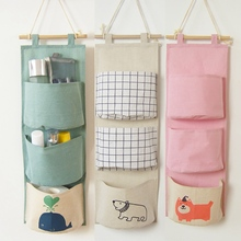 Wall Hanging Storage Bag Wardrobe Organizer Toys Container Decor Pocket Pouch Home Decoration Accessories