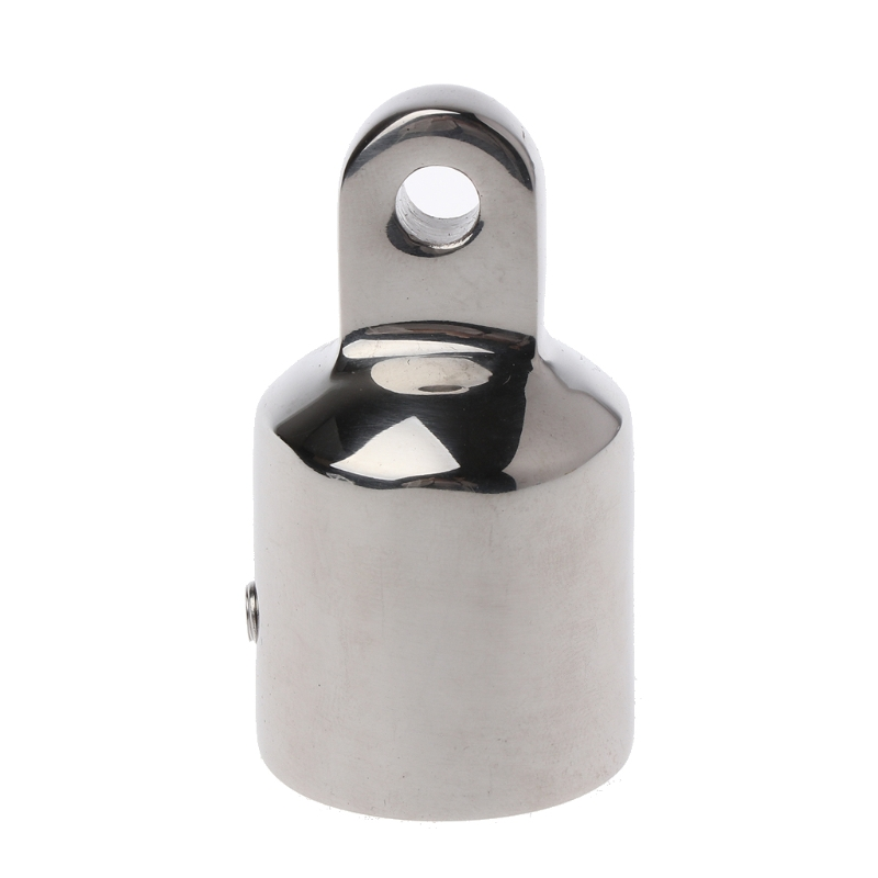 Stainless Steel <font><b>Bimini</b></font> <font><b>Top</b></font> Eye End Cap For 0.98'' Pipe Marine <font><b>Boat</b></font> Yacht Marine <font><b>Hardware</b></font> 2018 <font><b>Boat</b></font> Parts & Accessories image