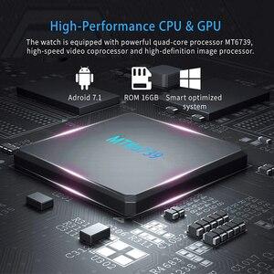 "Image 2 - NEW DM368 Plus Android 7.1 4G Smart Watch MTK6739 Quad Core 1GB Ram 16GB Rom 1.3"" IPS Round Screen Bluetooth Wifi GPS Smartwatch"