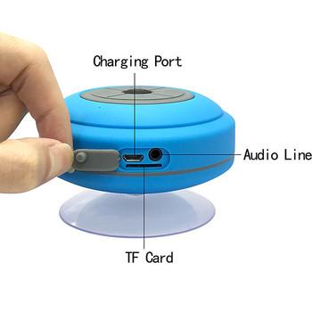 Głośnik bezprzewodowy Bluetooth przenośny głośnik głośnomówiący prysznic wodoodporny głośnik bezprzewodowy samochód ze światłem LED wsparcie TF tanie i dobre opinie ssdfly Przenośne Baterii Z tworzywa sztucznego Pełny zakres 2 (2 0) CN (pochodzenie) 25 W NONE Metal Pasywne inny Radio