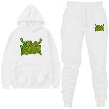 2020 Fleece Hoodies Sweater Mannen Casual Tweedelige Warme Hoodie Hip Hop 2Pc Hoody Mode Hoodie Maat s 2XL