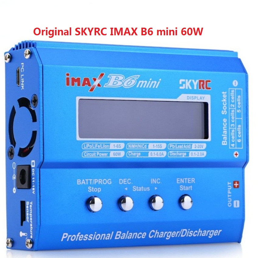 Hot  Sale  100% Geniune SKYRC IMAX B6 Mini Professional Balance Charger/Discharger SK-100084-01 With Anti-counterfeit Code