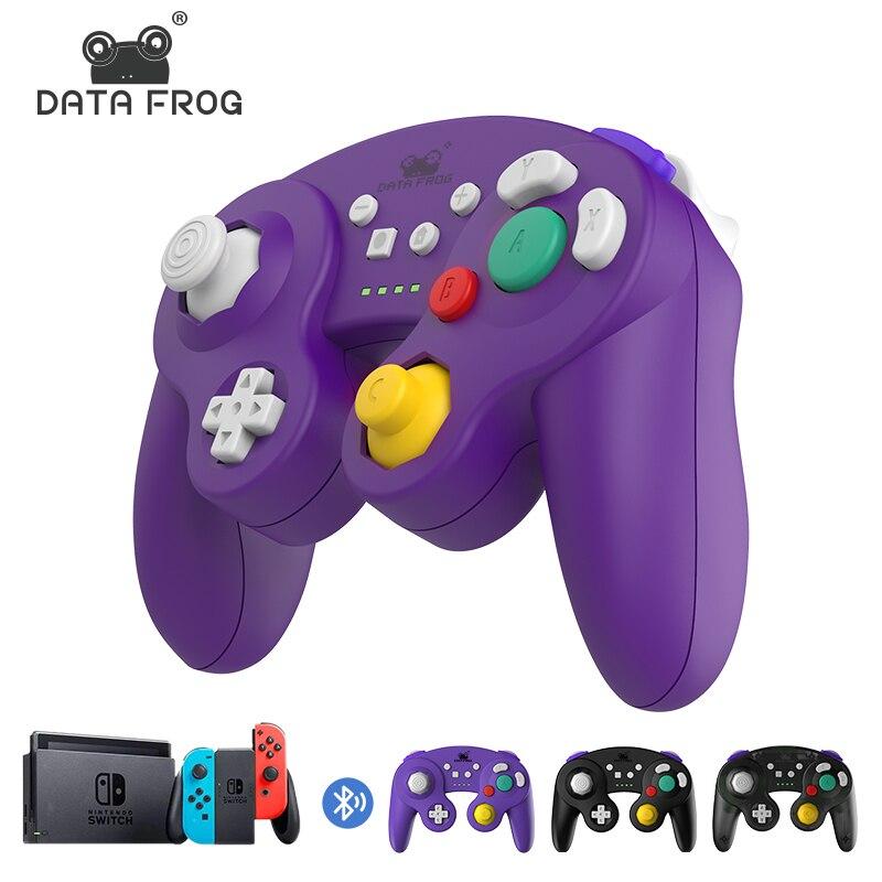 DataFrog Controller Senza Fili di Bluetooth Per Nintendo Switch/Interruttore di Pro/PS3/PC/TV Box di Vibrazione del Controller di Giochi joystick