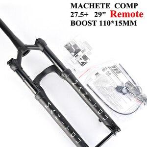 Manitou MACHETE COMP Велосипедная вилка 27,5 + 29er BOOST 110*15 мм горная вилка для горного велосипеда масло для подвески и газовая вилка с дистанционным замк...