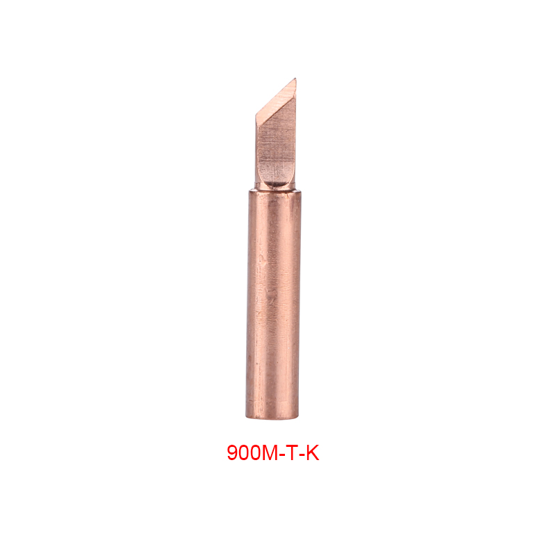 Details about  /15Pcs//lot Pure Copper Lead Free Soldering Iron Tips 900M-T Welding Head For 936