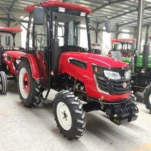 Фермерский трактор 4WD 55 лошадиных сил можно выбрать разное оборудование