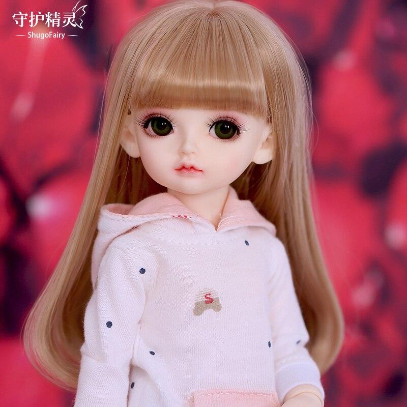 OUENEIFS Rita BJD Dolls 1/6 Fullset Option Toys For Girls INS Ball Jointed Doll 26cm