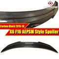 Для BMW F16 X6 F86 X6M производительность спойлер для багажника из углеродного волокна крыло PSM Стиль X6 F16 задний спойлер для ствола спойлер 2015-18