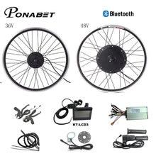 Kit de Conversion pour vélo électrique, roue motorisée avant et arrière de 26 29 pouces, 700C, 48V, 1000W, 1500W, 36V, 250W, 500W