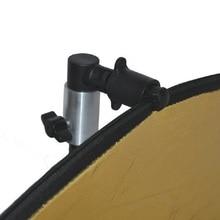 רפלקטור קליפ תמונה וידאו צילום סטודיו רקע רפלקטור Softbox דיסק מחזיק קליפ מתאם סוגר עבור אור Stand