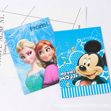 Book Book-Notebook Frozen Single-Line-Book Disney Mickey Learning-Prize Exercise A5 16-Page