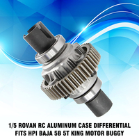 1/5 Rovan RC Aluminum Case Differential Fits HPI Baja 5B 5T King Motor Buggy RC Car Toy Assemblage Parts