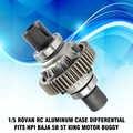 1/5 Rovan RC Cassa di Alluminio Differenziale Misura HPI Baja 5B 5T Re Motore Buggy RC Auto Giocattolo di Assemblaggio Parti
