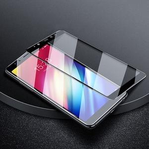 Image 5 - Gehärtetem Glas Für Samsung Galaxy A8 A6 Plus J6 J8 A7 2018 A750 Screen Protector Glas Für Samsung A6 A8 + J4 Plus J2 Core Film