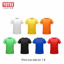YOTEE 2019 new cotton fashion simple T-shirt personal company group custom short-sleeved LOGO custom casual shirt T-shirt