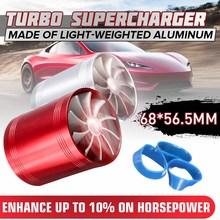 68mm x 65mm uniwersalny filtr powietrza samochodowy wentylator dolotowy paliwa gaz Saver Supercharger MV77942B dla turbosprężarki turbosprężarki turbosprężarki tanie tanio Autoleader CN (pochodzenie) China Light-weighted Aluminum 56 5mm Universal Turbo Chargers Red Silver 55 000R Min