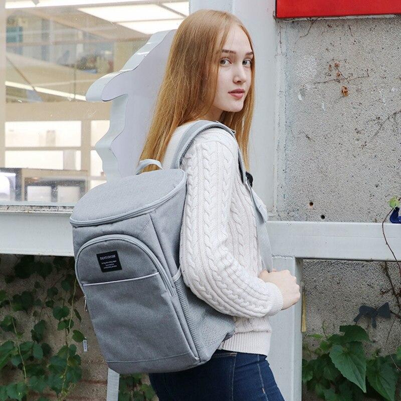ombro ajustável mochila à prova dwaterproof água