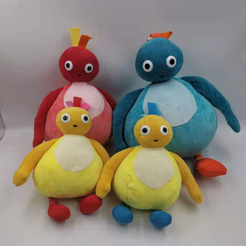 4pcs Doggy for sale New Twirlywoos Chickedy Chick Peekaboo Plush Doll Toy Best birthday present for children Christmas gift