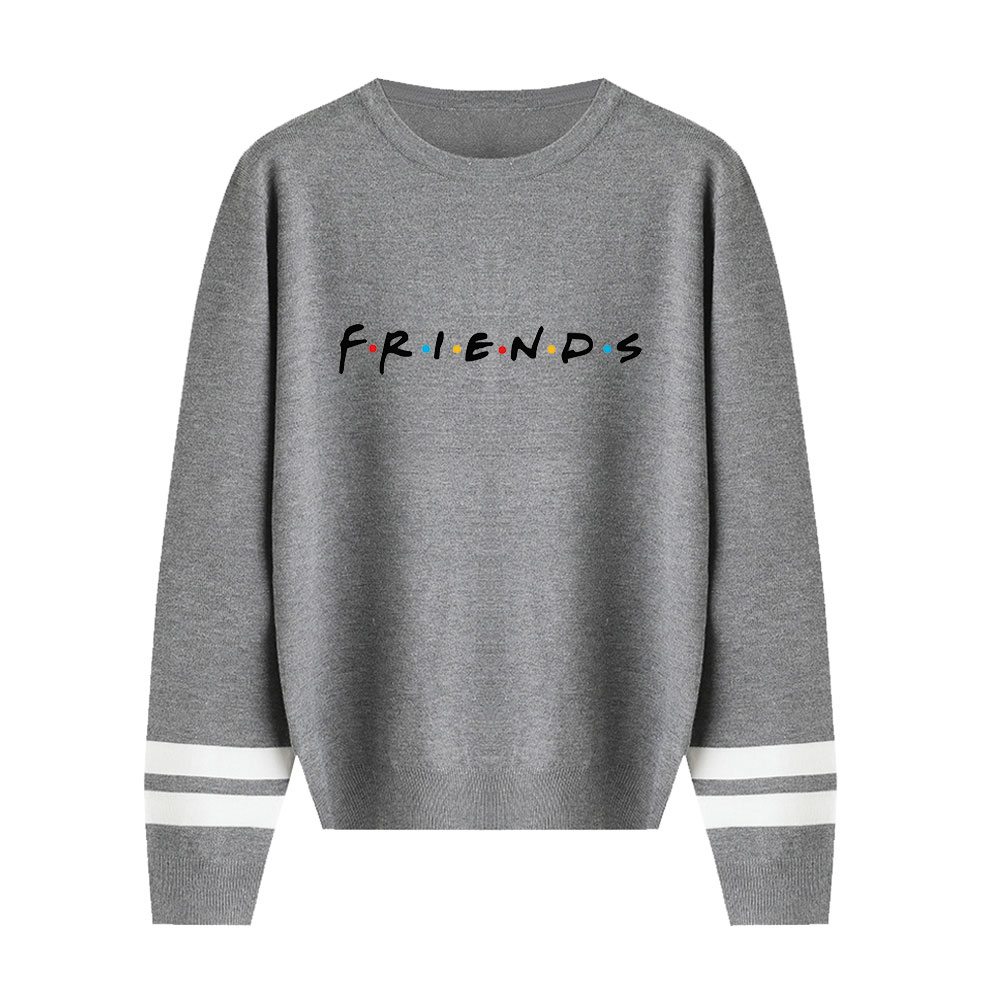 Friends Sweater Classic Sitcom Sweater Men/women Casual Knitting Sweater New Listing Fall/Winter Pullovers Female Unisex Sweater