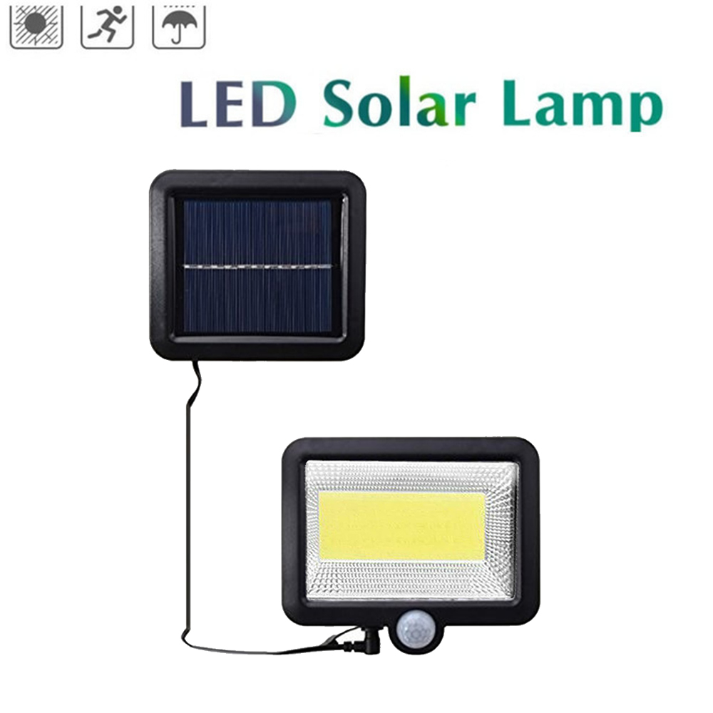 30Led Solar Power Light Pir Motion Sensor Garden Security Yard Landscape Lamp BB