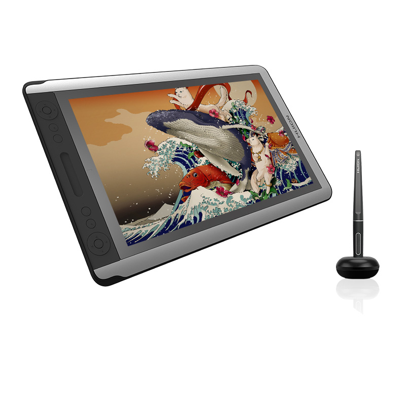 HUION 15.6 Inch Kamvas 16 Pen Display Monitor 8192 Levels Tilt Function Support Digital