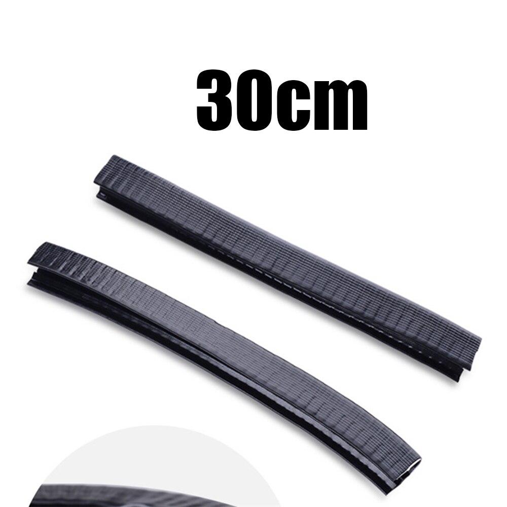 Silicone Rubber Deck Guard Strips Black Universal Longboard Parts Supplies
