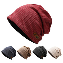 Women Winter Hat Solid Men Fashion Down Headgear Color Pile Cap Casual Earmuffs Warm Ushanka
