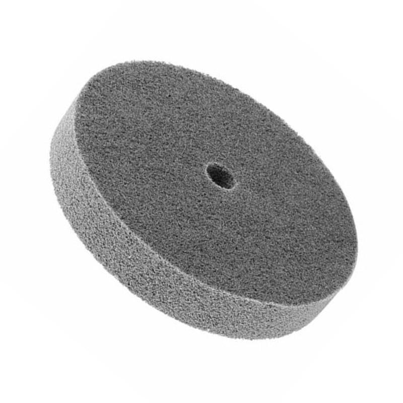150mm Dia. 25mm Thick 180 Wool Polishing Wheel Polishing Pad Angle Grinder Wheel Felt Disc For Metal Marble Glass Ceramics