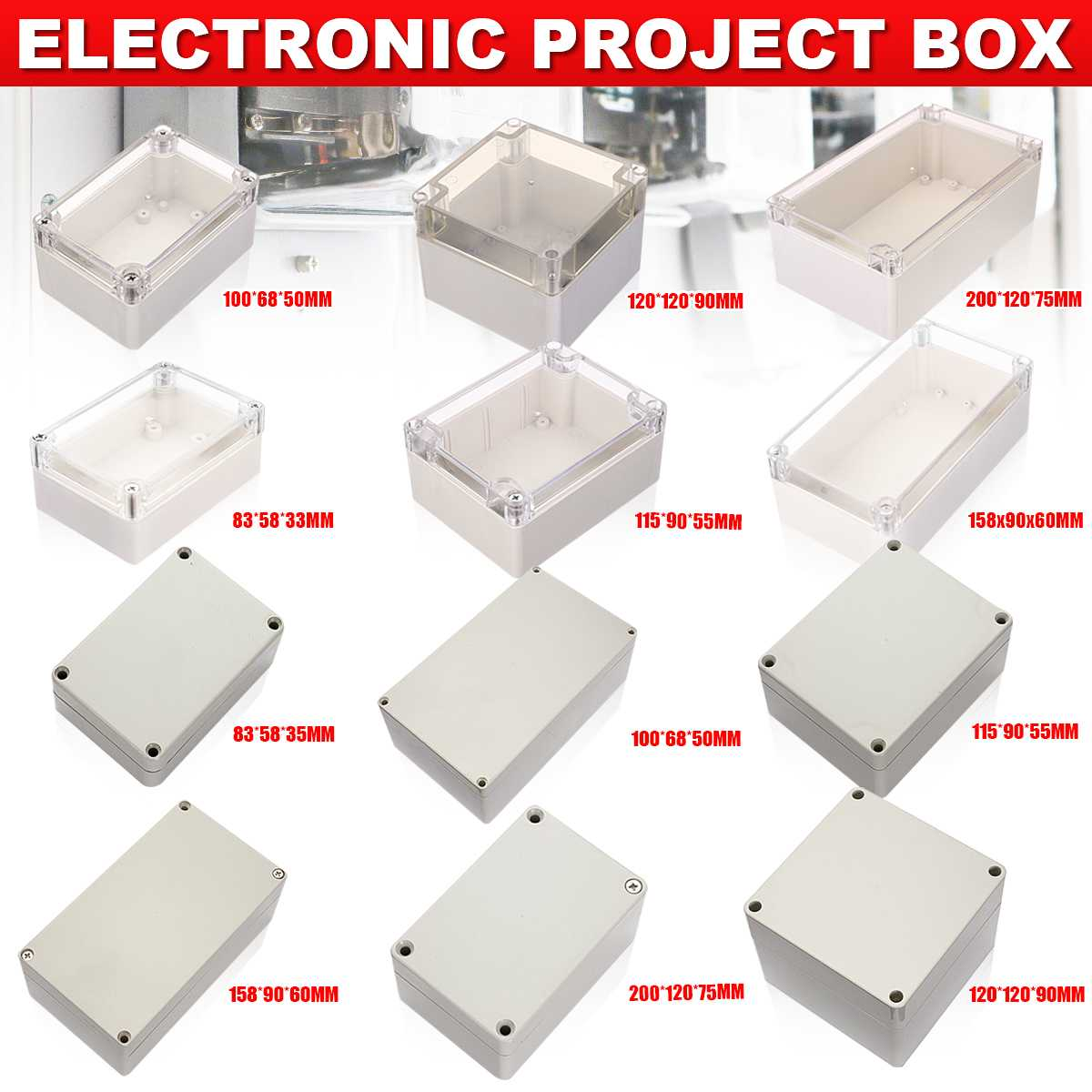 6-size-waterproof-plastic-enclosure-box-electronic-project-instrument-case-electrical-project-box-outdoor-junction-box-housing