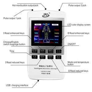 Image 4 - الرعاية الصحية عشرات الوخز بالإبر مدلك EMS العضلات محفز الألم الإغاثة مدلك الظهر الرقبة الجسم 18 بساط التدليك الخلفي مدلك